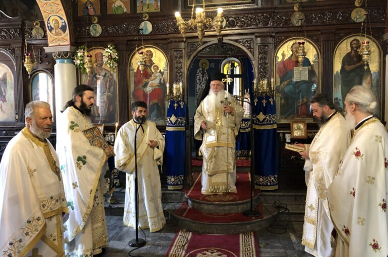 Εορτασμός του Πολιούχου της Θήβας Αγίου Ιωάννου του Καλοκτένους