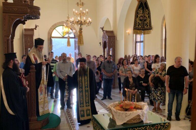 Χιλιάδες οι προσευχόμενες καρδιές στον Όσιο Νικηφόρο τον Λεπρό στην Ι. Μ. Κισάμου