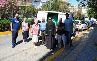 Ρούχα για επαναπατριζόμενους αλλοδαπούς από την Αγία Μαρίνα
