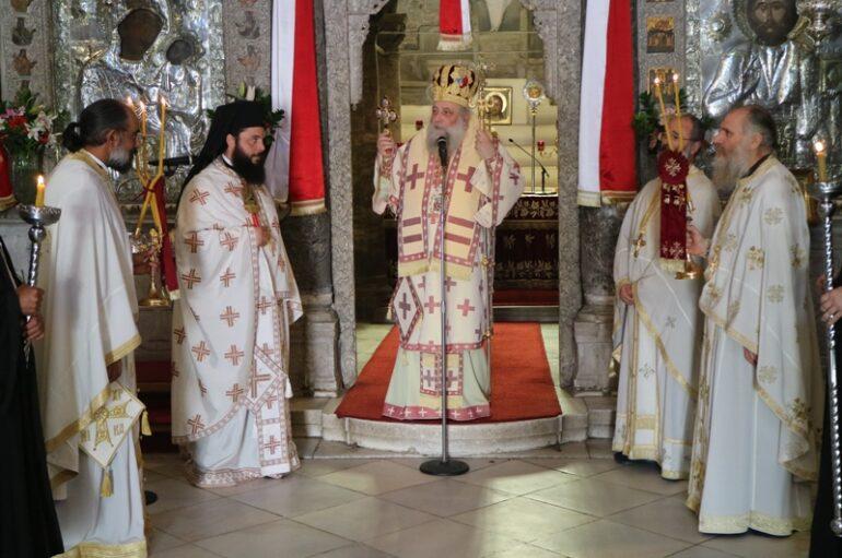 Η εορτή των Αγίων Κωνσταντίνου και Ελένης στην Πάρο