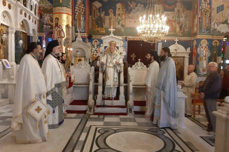 Κυριακή του Τυφλού στο Ι. Προσκύνημα του Οσίου Ιωάννου του Ρώσσου