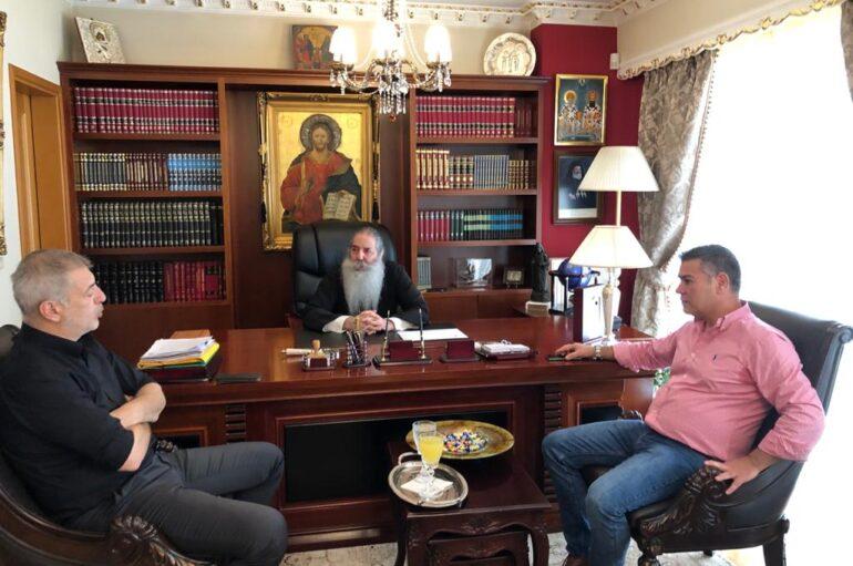 Στον Μητροπολίτη Σεραφείμ ο Δήμαρχος Πειραιά Ιωάννης Μώραλης