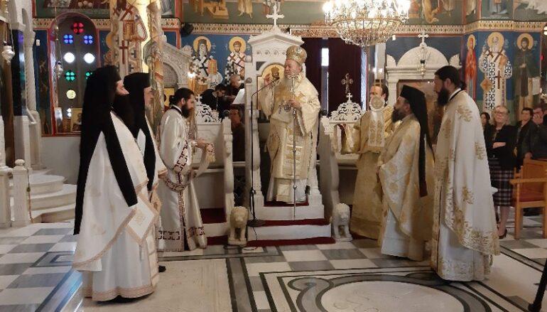 Ο εορτασμός του Οσίου Ιωάννου του Ρώσσου στο Νέο Προκόπιο Ευβοίας