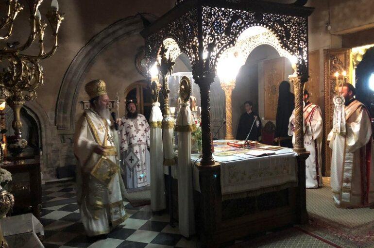 Προεόρτια Αγρυπνία του Οσίου Ιωάννου του Ρώσσου στην Χαλκίδα