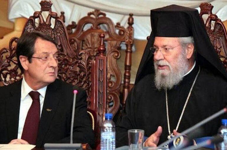 Ο Αρχιεπίσκοπος Κύπρου διαβεβαίωσε τον ΠτΔ για τήρηση των μέτρων στους ναούς
