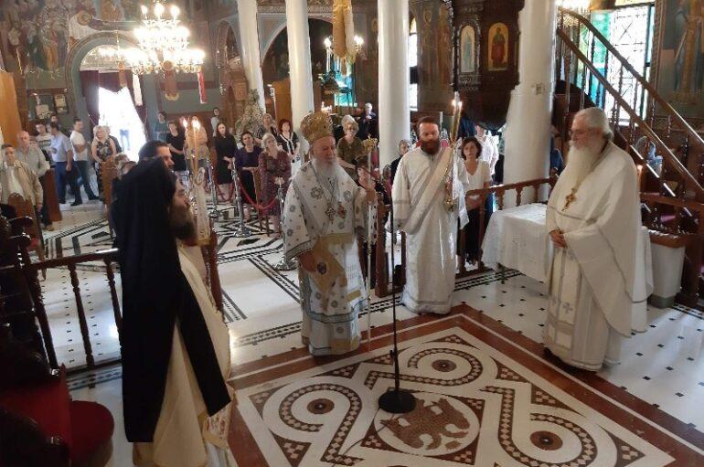 Κυριακή της Σαμαρείτιδος στην Ιερά Μητρόπολη Χαλκίδος