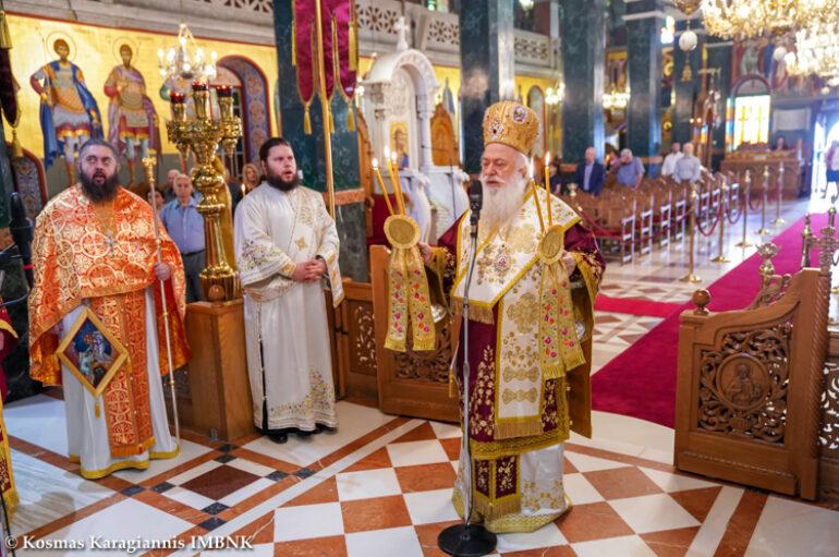 Αρχιερατική Θ. Λειτουργία στον Ι. Ναό Αγίου Αντωνίου Πολιούχου Βεροίας
