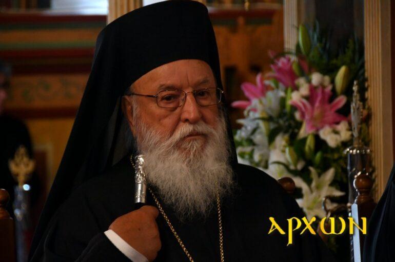 """Μαντινείας Αλέξανδρος: """"Η Θεία Κοινωνία είναι η αναπνοή της ψυχής"""""""