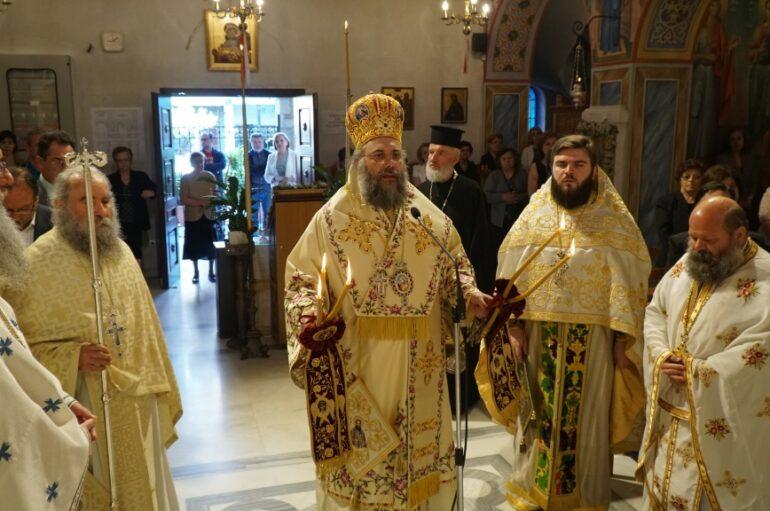 Τα Τρίκαλα εόρτασαν τον Πολιούχο τους Άγιο Βησσαρίωνα
