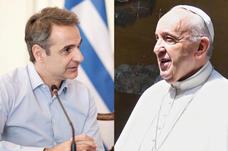 Ο Πρωθυπουργός κάλεσε τον Πάπα Φραγκίσκο στην Ελλάδα