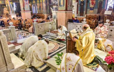 Η Δεσποτική εορτή της Πεντηκοστής στην Ι. Μ. Λαγκαδά