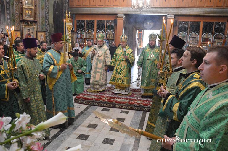 Η Συμφερούπολη της Κριμαίας εόρτασε τον Όσιο Λουκά τον Ιατρό