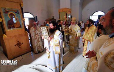Η εορτή του Αγίου Λουκά του Ιατρού στην Ι. Μ. Αργολίδος