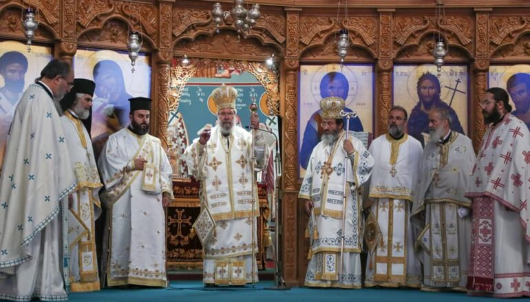 Η Εκκλησία της Κύπρου τίμησε τον Ιδρυτή της Απόστολο Βαρνάβα
