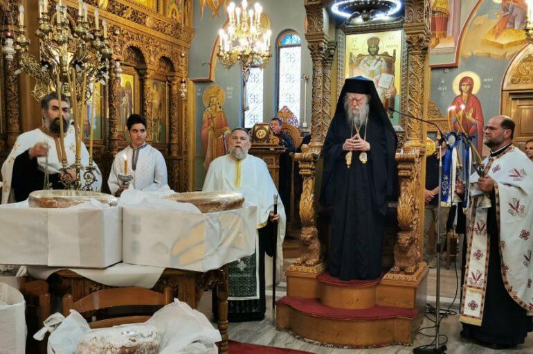 Oι εορτές της Πεντηκοστής και της Αγίας Τριάδος στον Πύργο