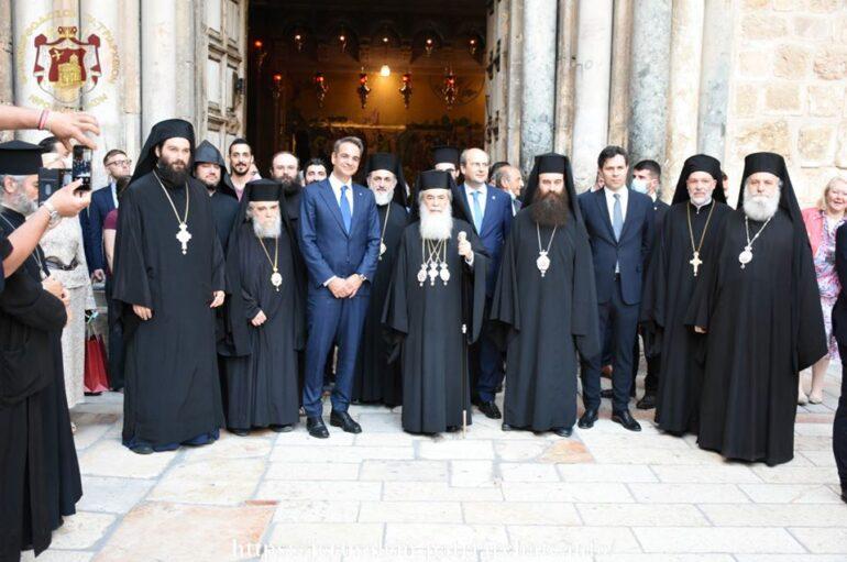 Το Ναό της Αναστάσεως επισκέφθηκε ο Πρωθυπουργός Κυριάκος Μητσοτάκης