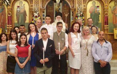 Μαθητές αλβανικής καταγωγής έγιναν μέλη της Ορθόδοξης Εκκλησίας στη Ν. Ιωνία