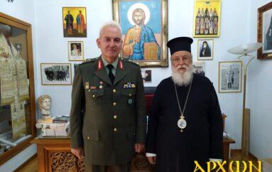 Στον Μητροπολίτη Μαντινείας ο απερχόμενος Διοικητής ΔΙ.ΚΕ Πελοποννήσου