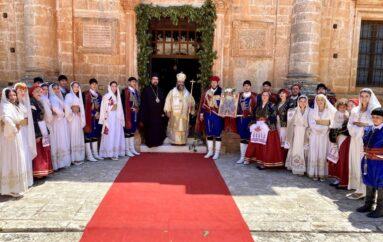 Η Εορτή της Πεντηκοστής στην Ι. Μονή Αγίας Τριάδος των Τζαγκαρόλων