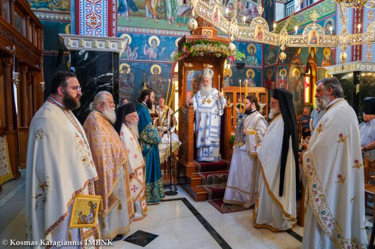 Η Σύναξη των Αγίων Δώδεκα Αποστόλων στα Κύμινα Βεροίας