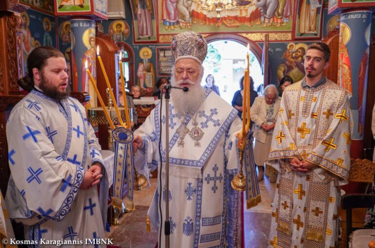 Η εορτή του Αγίου Πνεύματος στην Ιερά Μητρόπολη Βεροίας