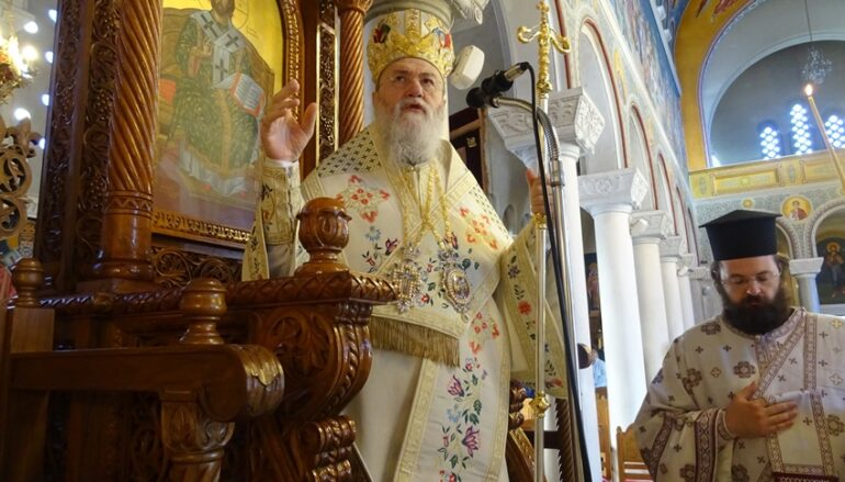 Κυριακή των Αγίων Πατέρων της Α΄Οικουμενικής Συνόδου στην Ι. Μ. Κορίνθου
