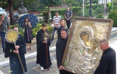 Την Παναγία Παραμυθία υποδέχθηκε ο Καθεδρικός Ναός της Κορίνθου