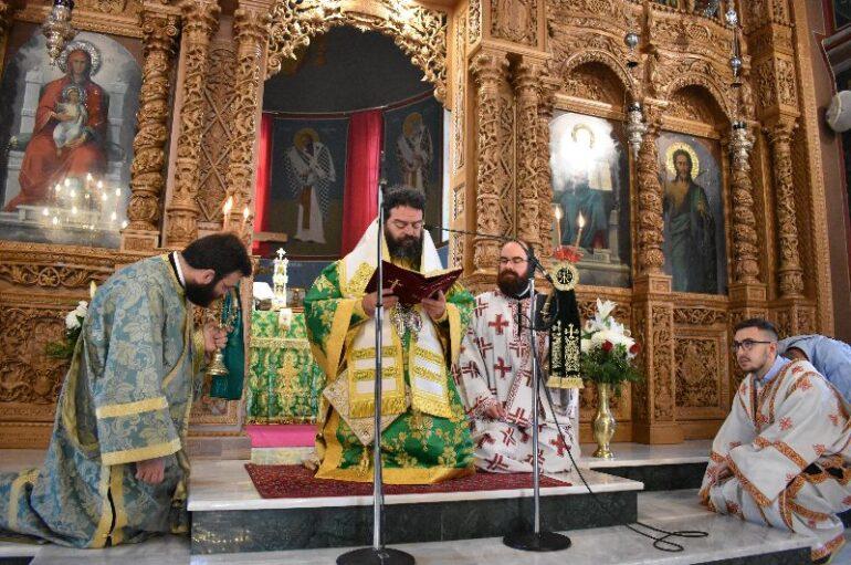 Η εορτή της Πεντηκοστής στην Ι. Μητρόπολη Μαρωνείας