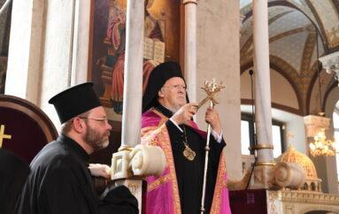 O εορτασμός του Αγίου Πνεύματος στον Ι. Ναό Αγίας Τριάδος Σταυροδρομίου