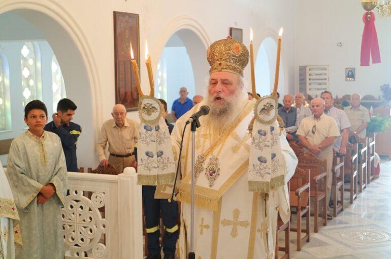 Ο εορτασμός του Αγίου Αθανασίου του Παρίου στον Κώστο της Πάρου