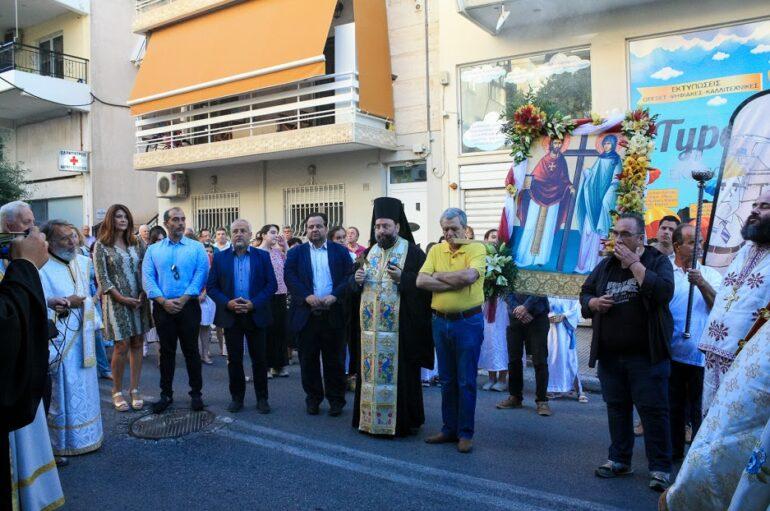 Τιμήθηκαν οι Άγιοι Τιμόθεος και Μαύρα στην Ηλιούπολη