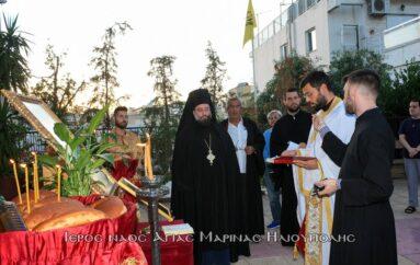 """Εορτή Συνάξεως της Παναγίας """"Άξιον Εστί"""" στην Ηλιούπολη"""