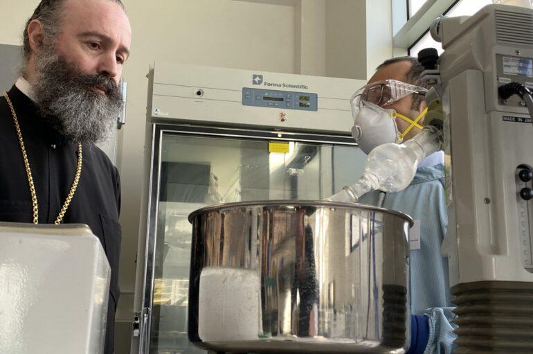 O Αρχιεπίσκοπος Αυστραλίας ενημερώθηκε για το εμβόλιο του κορωνοϊού