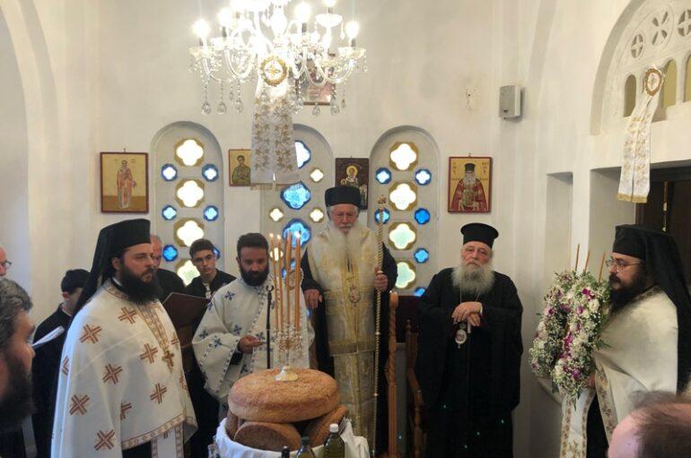 Ο εορτασμός του Οσίου Λουκά του Ιατρού στη Νάξο