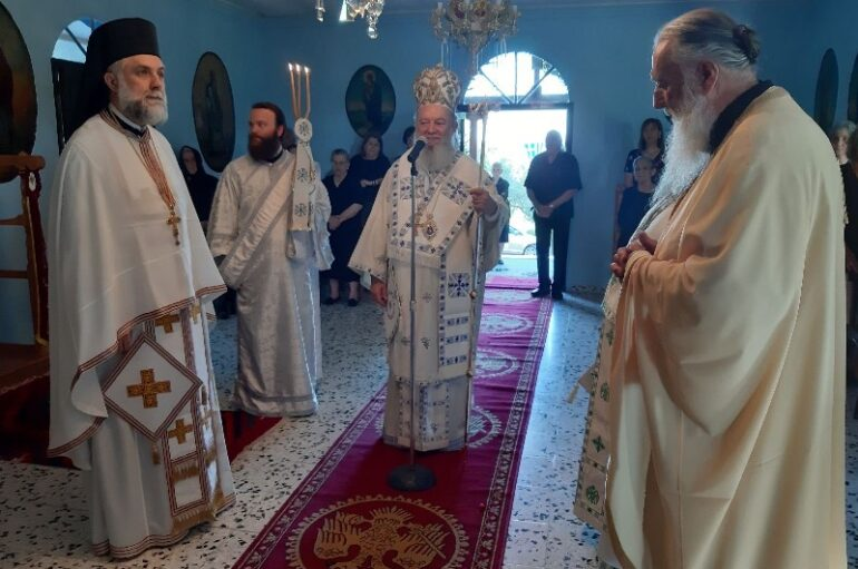 Περιοδεία του Μητροπολίτη Χαλκίδος στην Βόρεια Εύβοια