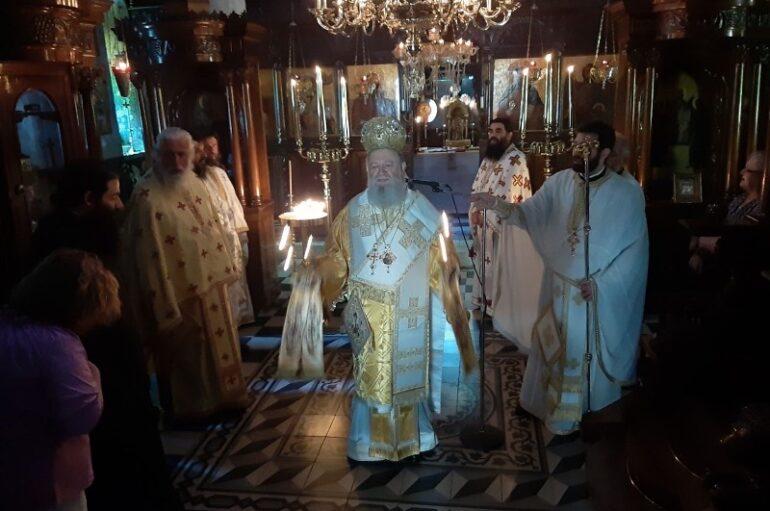 Εορτή της Αγίας Φεβρωνίας στην Ι. Μητρόπολη Χαλκίδος