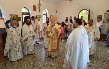 Η εορτή του Αγίου Πνεύματος στην Ι. Μητρόπολη Χαλκίδος