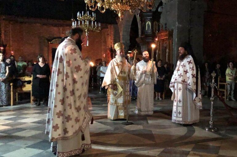 Αγρυπνία στον Ιερό Ναό Αγίας Παρασκευής Χαλκίδος