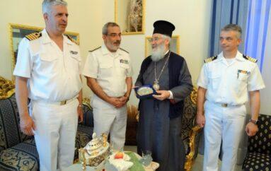 Στο Μητροπολίτη Λέρου ο Διοικητής ΔΔΜΝ του Πολεμικού Ναυτικού