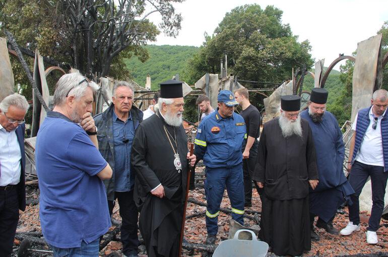 Θλίψη και πένθος στην Ιερά Μητρόπολη Φωκίδος