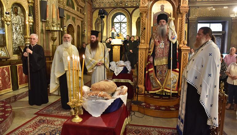 Εορτή του Αγίου Λουκά του Ιατρού στον Ι. Ναό Ευαγγελιστρίας Πειραιώς