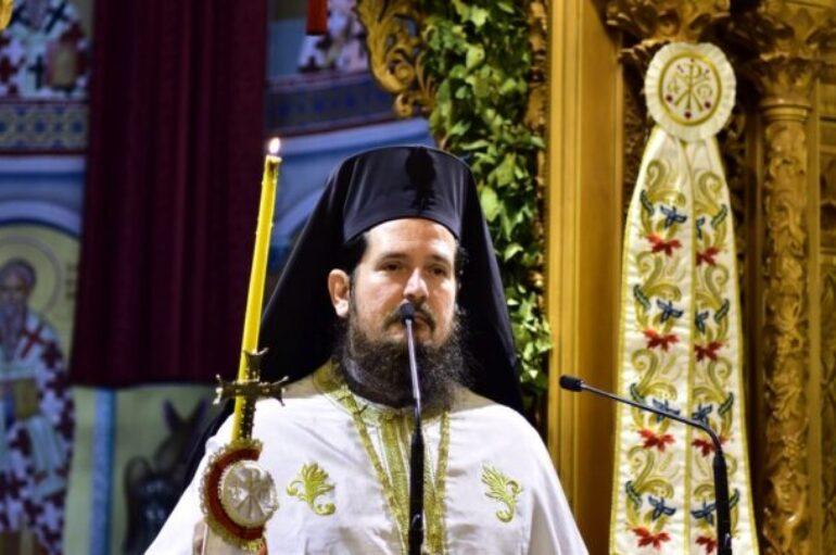 Ο Αρχιμ. Αχίλλιος Τσούτσουρας Ιεροκήρυκας στην Ι. Μ. Τρίκκης