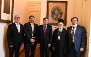 Το Οικ. Πατριαρχείο επισκέφθηκε ο Πρέσβης των ΗΠΑ στην Άγκυρα