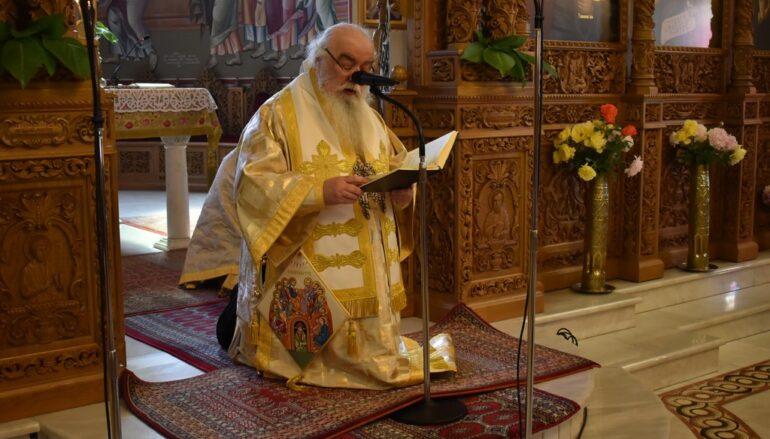 Η εορτή της Πεντηκοστής στην Ιερά Μητρόπολη Καστορίας
