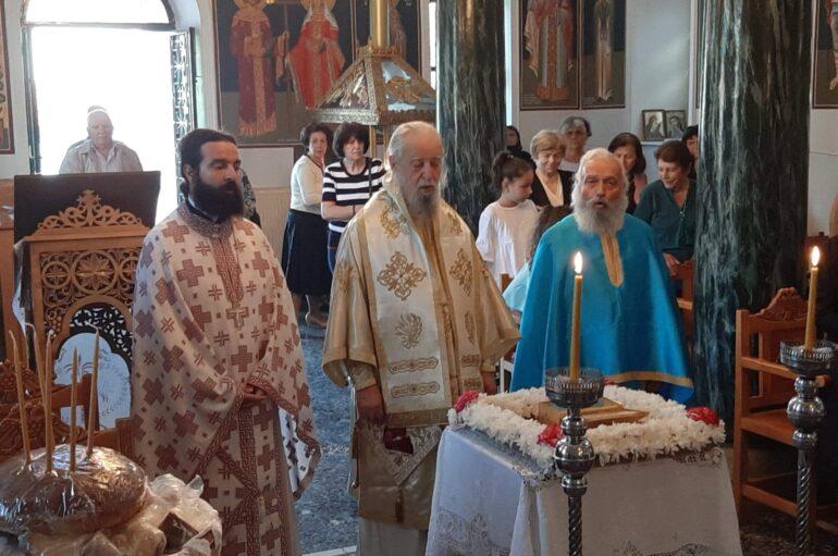 Κυριακή των Αγίων Πάντων στην Ιερά Μητρόπολη Καρυστίας
