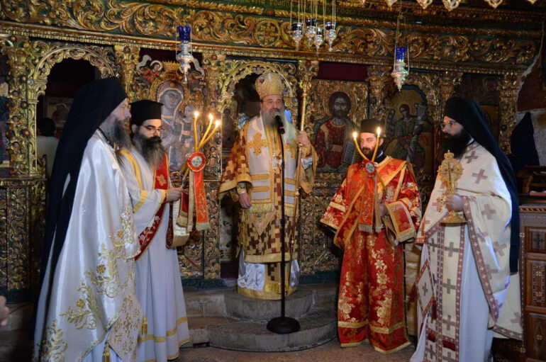 Η εορτή των Αγίων Πάντων στην Ιερά Μητρόπολη Πατρών