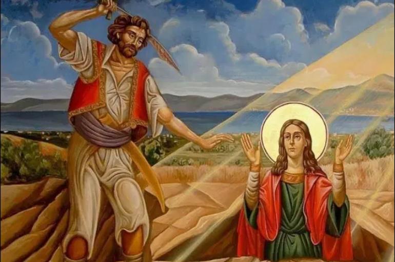 H Αγία Μαρκέλλα, Πολιούχος της νήσου Χίου