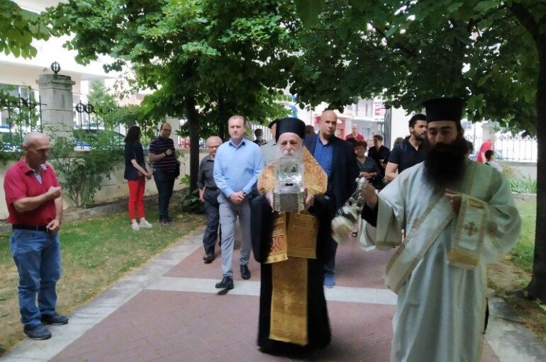 Υποδοχή της Τιμίας Κάρας του Οσίου Νικάνορος του Θαυματουργού στα Γρεβενά