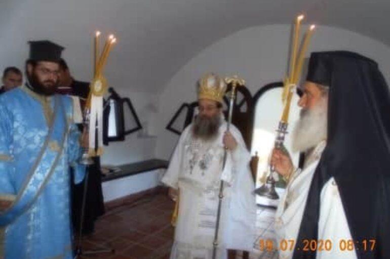 Ο Μητροπολίτης Χίου στον Άγιο Μάρκο Καρδαμύλων