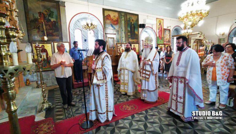 Ο εορτασμός της Αγίας Κυριακής στην Ι. Μ. Αργολίδος